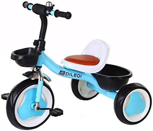 Poppenwagen kinderen trikes peuterbike balans-fiets, kinderfiets kleinkind retro stalen frame baby-fiets binnenin tricycle kinderen 1-3-6 jaar babyartikelen