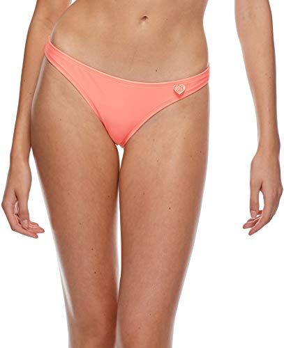 Body Glove Women's Basic Solid Fuller Coverage Bikini Bottom Swimsuit, Smoothies Splendid, Large