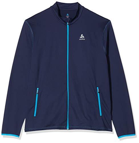 Odlo Alagna Midlayer Full Zip Sweat-Shirt À Capuche Sport Homme, Multicolore (Peacoat New 28700), XX-Large