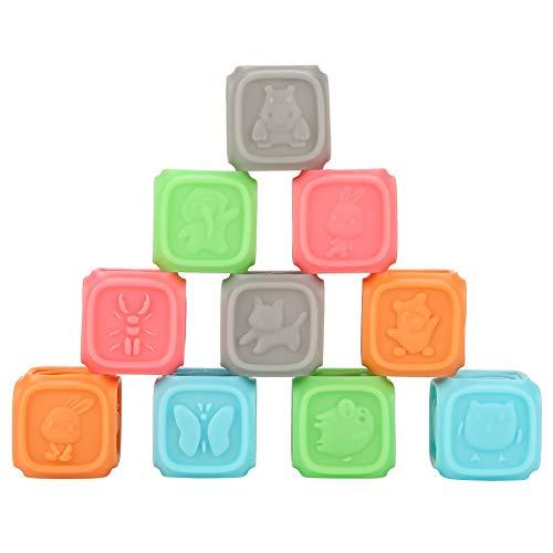 Toque las bolas suaves para la mano, masaje para apretar la bola de baño de juguete, no tóxica para niños mayores de 6 años de edad Educación temprana jugando en casa