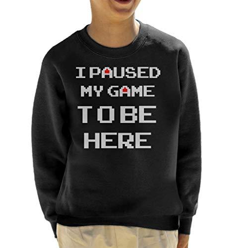Cloud City 7 Ik pauzeerde mijn spel om hier te zijn Kid's Sweatshirt