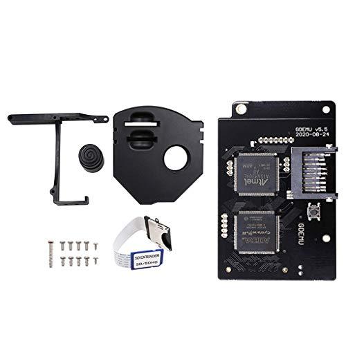 YUYAN GDEMU Fernbedienung SD Karte Mount Kit Verlängerungsadapter für SEGA Dreamcast GDEMU V5.5 Disk Ersatz