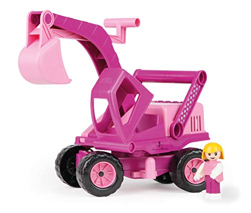 Lena Eco Active Princess Pink Toy Excavator Truck is a Eco Friendly BPA and Phthalates Free Toy Manufactured from Premium Grade Resin and Wood