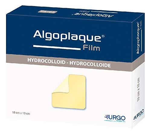 ALGOPLAQUE Film 10x10 cm dünn.Hydrokoll.Ver 20 St
