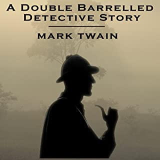 A Double Barreled Detective Story audiobook cover art