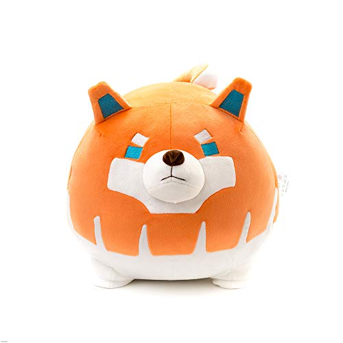 Niuniu Daddy Stuffed Animal Dog 19.6In Plush Toy Pillow for Kids Kawaii Soft Cuddly Puppy Hugging Body Pillow Plushie Corgi Birthday Gift for Girls Boys