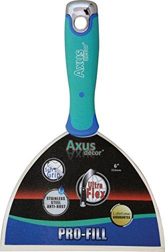 Axus Décor AXU/fkb6 15 cm pro-fill Couteau à garnir souple en acier inoxydable
