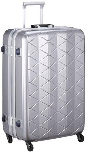 [サンコー] スーツケース SUPER LIGHTS MG-C 軽量 消音/静音キャスター MGC1-69 93L 69 cm 4.2kg エンボスヘアラインシルバー