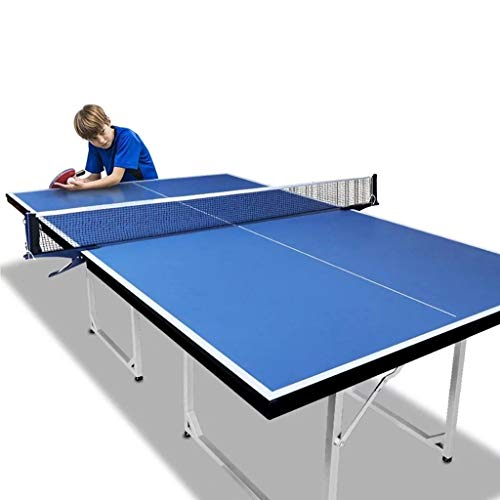 Why Choose YGO Table Tennis Table Foldable Ping Pong Table with Paddles Balls and Net - Space Saving...