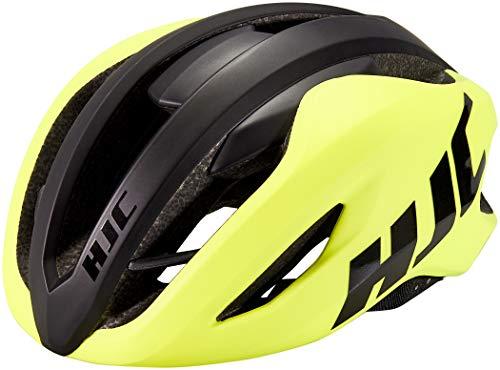 Casco de bicicleta HJC VRoad mate brillante amarillo negro c