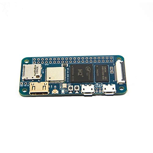 Ils - Banana Pi BPI-M2 zéro H2 + Quad-Core Cortex-A7 512 Mo DDR3 WiFi Bluetooth Onboard Simple Development Board Computer Board Mini PC Conseil Apprentissage
