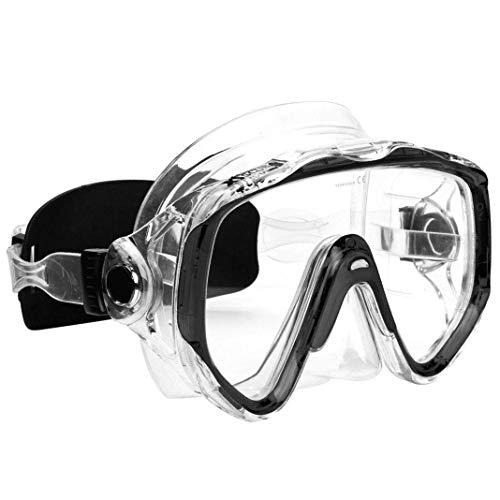 XS Scuba Cortez Dive Mask - Black