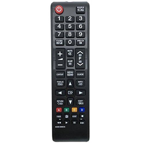 allimity Sostituire il Telecomando AA59-00603A apto para Samsung TV AA5900603A PS43E490B1K PS43E490B1M PS43E490B1W PS43E490B2W PS43E495B1K PS43E497B2K PS51E490B1K PS51E490B1M