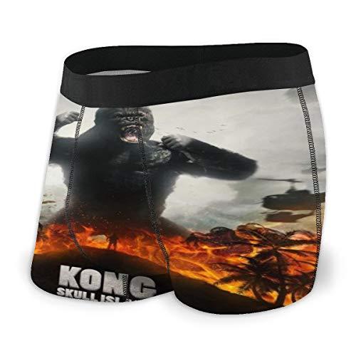 K-in-G K-Ong (1) Men's Boxer Briefs: Men's Cotton Classics Boxer Briefs Black