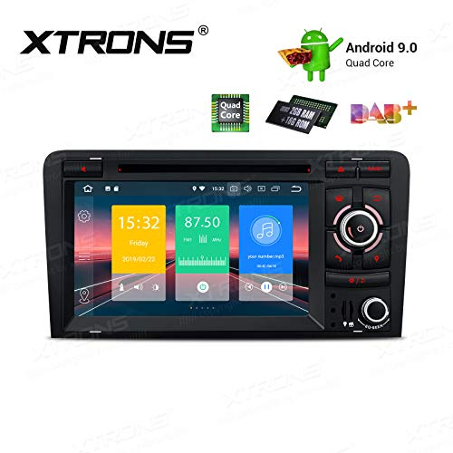 autoradio xtrons AUTORADIO 7  XTRONS Android 9.0 per Audi A3 / S3 RS3 8P 8P1 SPORTBACK