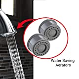 Neoperl Water Saving Aerators 4 LPM, Shower Flow with Pressure Compensating Technology