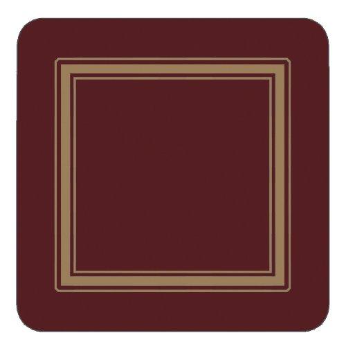 Classic Burgundy Untersetzer 6 Stück (s)