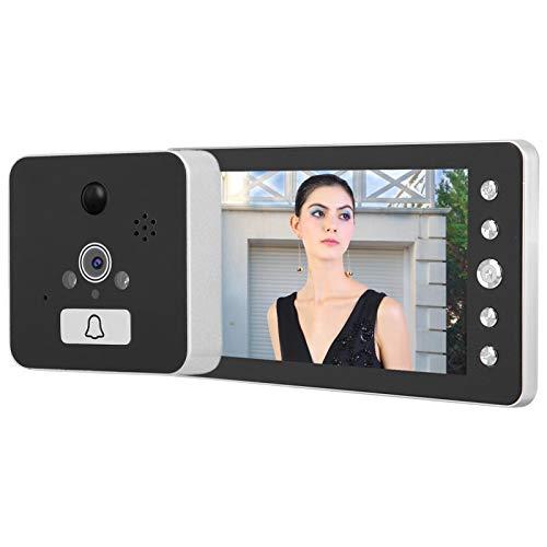 BHDD Timbre Video de WiFi, 1080P HD fácil de Instalar Timbre Video del Visor de la Puerta, para el hogar