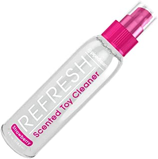 Refresh Anti-Bacterial STRAWBERRY Scented Toy Cleaner Unique cleansing agent gently cleans surface size 4 oz