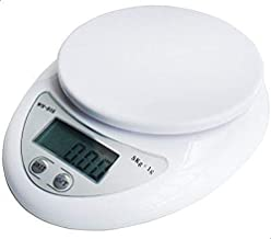 Generic WH-B05 Electronic Digital Kitchen Scale (5KG, White)