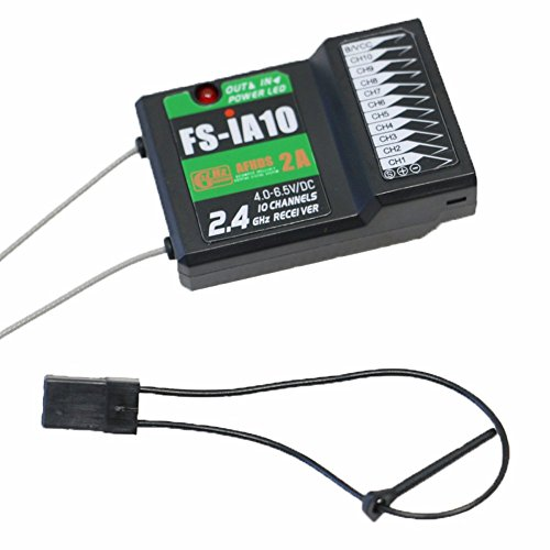 Flysky FS-iA10 new 10-channel receiver PPM output compatible I4 I6 GT2E GT2G I10 transmitter