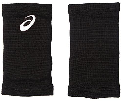 アシックス バレーボールサポーター ひじサポーター 2個入 XWP079 ボーイズ ブラック ホワイト 日本 OS Free サイズ