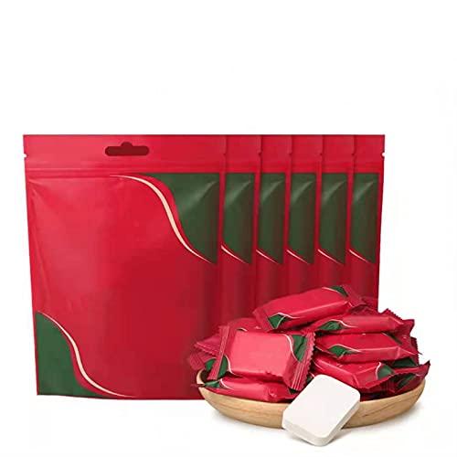 N / B Toalla de algodón comprimido Desechables de 120 Piezas, Embalaje Independiente Exquisito, diseño de Doble Cara, Suave y Agradable para la Piel, salón de Belleza, hogar y Actividades