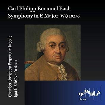 C.P.E. Bach: Symphony in E Major, WQ 182 No. 6