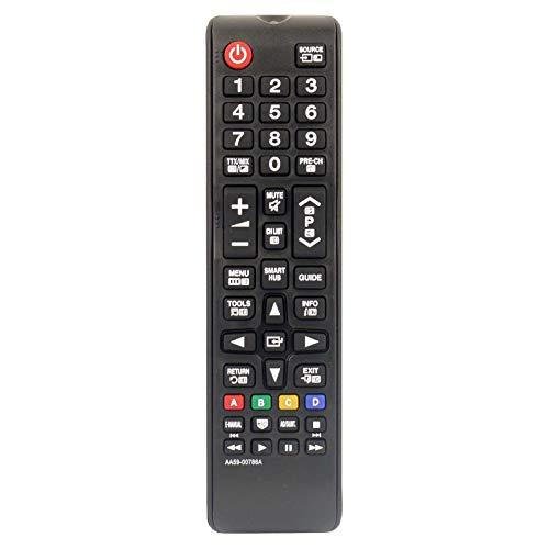 121AV BN59-01199G Fernbedienung Ersetzt für Samsung TV UE32J4500 UE32J4570 UE32J5200 UE32J5205 UE40J5200 UE40JU6000 UE40JU6050 UE43JU6060 UE48J5205 UE48JU6000 UE55JU6000 UE65JU6050