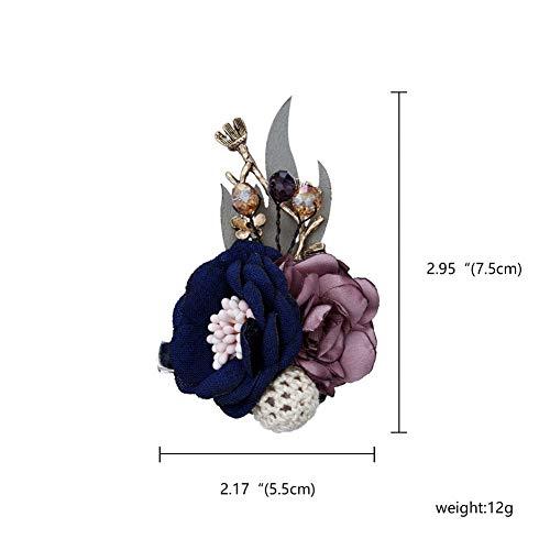 ERDING Brooch/Crystal n Broches Pins Canvas Stof knoop stropdas Corsage Broche voor n Kleding Jurk Accessoires
