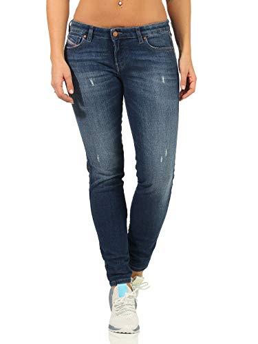 Diesel Gracey Damen Jeans, Farbe:Blau, Größen:29W / 30L