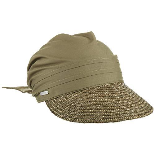 Seeberger Damen Cap 51175, Gr. one size, Grün (0053 oliv)