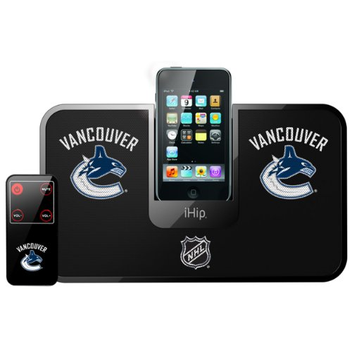 Fantastic Deal! NHL Vancouver Canucks Portable Premium iDock with Remote Control