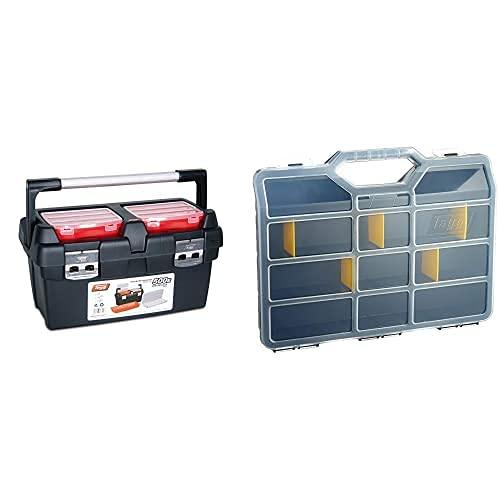 Tayg Caja Herramientas N. 500-E, 500 X 295 X 270 Mm + 45-26 Estuche Nº 45 312X238X51 Separadores, 2000 W, 240 V, 312 X 238 X 51 Mm