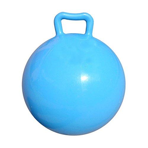 PIXNOR Jeu De Balle Ballons Sauteurs Gonflables Ballons Sauteur Gymnastique (Bleu) - 1 pièce