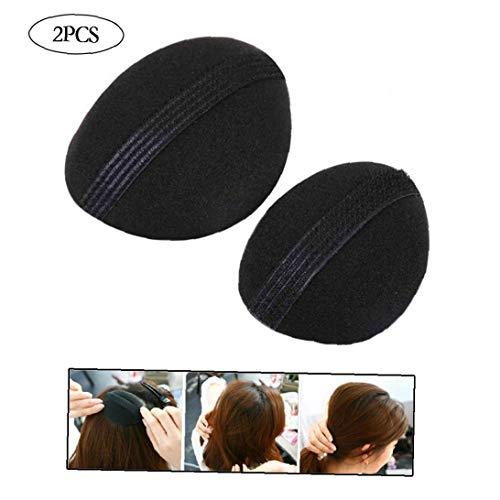 2pcs esponja LEVANTACOLA pelo de volumen del clip de la herramienta de relleno fabricante de accesorios para el cabello Barrettes para las mujeres
