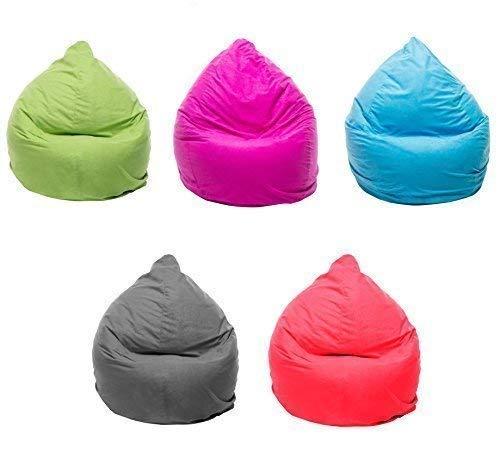 Preisvergleich Produktbild Tazado TOP XL Sitzsack 220 Liter mit Reißverschluss in verschiedenen Trendfarben. Separater Innensack Bean-Bag. (grau)
