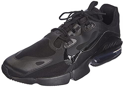 Nike Men's Air Max Infinity 2 Sneaker, Black/Black-Black-Anthracite, 10.5