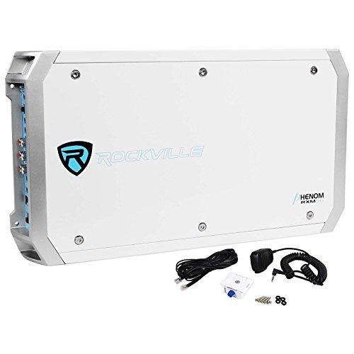 Rockville RXM-S6 Marine/Boat 6 Channel Amplifier 2600 Watt Peak / 660w Dyno-Certified RMS with Status Mode LED Indicator