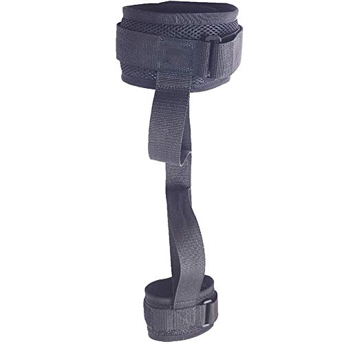 Fushida Leg and Thigh Lifters, Medical Transfer Cushion, Leg Lift Assist Band with Padded Wrist Strap for Lifting, Movement, Transfer Mobility Device Can be Used by Yourself (FYH171-1-large)