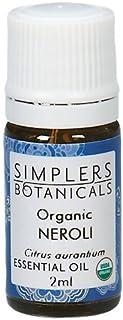 Living Flower Essences Simplers Botanicals Neroli Organic, 0.06 Fluid Ounce