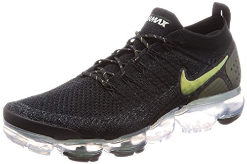Nike Air Vapormax Flyknit 2, Zapatillas de Atletismo para Hombre, Multicolor (Black/Multi/Color/Metallic Silver 015), 44.5 EU