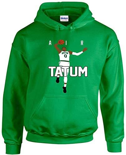 The Tune Guys Green Boston Tatum Air Pic Hooded Sweatshirt Adult