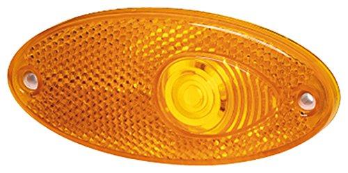 HELLA 2PS 964 295-001 Seitenmarkierungsleuchte - W5W - 12V - Lichtscheibenfarbe: gelb - Einbau - Einbauort: links/rechts