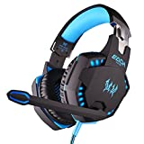 Kotion Each Over the Ear Headsets with Mic & LED - G2100 Edition