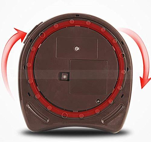 Elektrischer Wasserkocher Elektrischer Wasserkocher Edelstahl Braun Doppel Ti-Hot 1600W 5.0L 6-Stufen-Temperaturauswahl Intelligente Sicherheit Kindersicherung Trennbare Basis Automatische Abschaltun