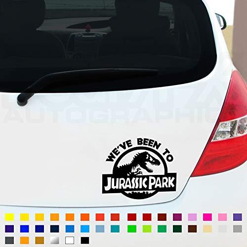 Fear7FX We've Been To Jurassic Park Sticker Decal, Car Window Bumper...