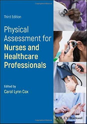 Cox, C: Physical Assessment for Nurses and Healthcare Profes
