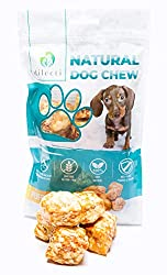Dilecti Puffs are softer than normal dog dental sticks or dental chews therefore it can be used as natural dog CHEWS FOR PUPPIES or as SOFT DOG TREATS for older dogs with sensitive gums. Made according to the same reciepe as yak chews from cow`s milk...