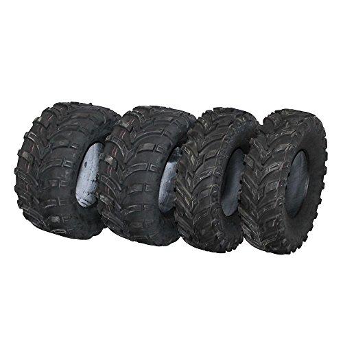 Reifen Set 2X 25x10-12 und 2X 25x8-12 schlauchlos TL Quad Buggy ATV neu